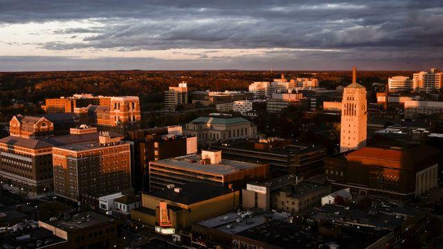 Ann Arbor time lapse, shot using a Canon 30D