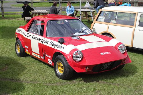 1969 Cox GTM .. seen at the 2013 race retro meeting at Stoneleigh park Warwickshire ..