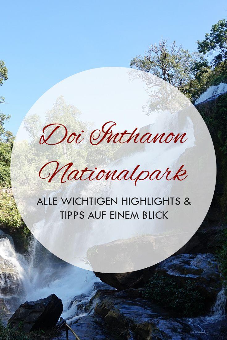 Doi Inthanon Nationalpark gehört zu den besten Sehenswürdigkeiten und Trips in Chiang Mai, Thailand. Du findest alle nötigen Infos und Tipps im Beitrag.