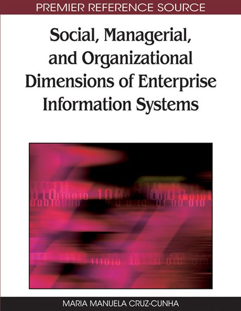 I'm selling Social, Managerial, and Organizational Dimensions of Enterprise Information Systems - $25.00 #onselz