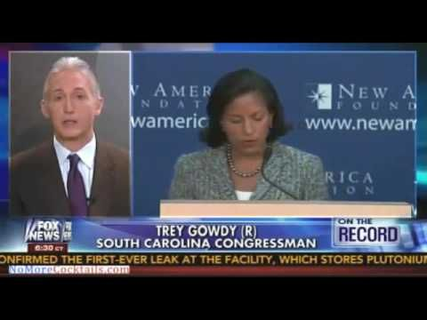 Trey Gowdy Owns Susan Rice 'I Get Tougher Questions At The Drive Through' - YouTube