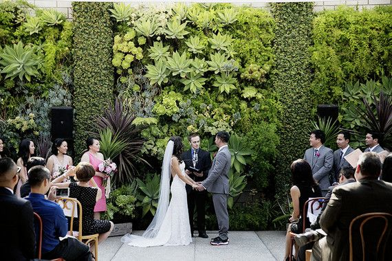 Whimsical Smog Shoppe wedding