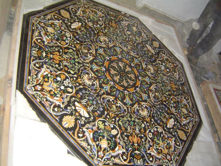 89 best Pietra Dura marble dinning table top Rectangle images on