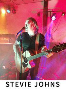Stevie Johns from Belfast (Singer/Songwriter)