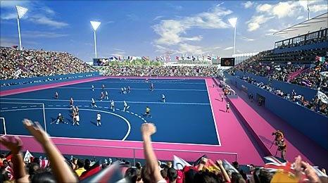 Hockey pitch (BBC)