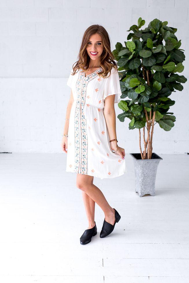 Tiffany Dress- White