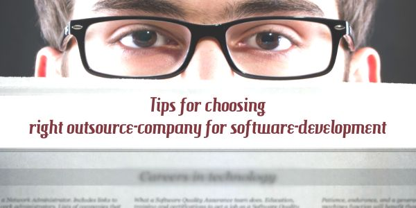 Tips for choosing right #Software #development #company in India.
