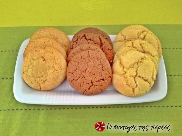 Μαλακά κούκις λεμόνι-soft cookies