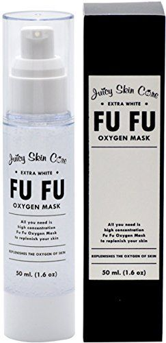 Fu Fu Oxygen Mask By Juicy Skin Care - Facial Mask Acne Oxygen Instant Energizing Mask (1.6 oz) >>> Read more reviews of the product by visiting the link on the image.