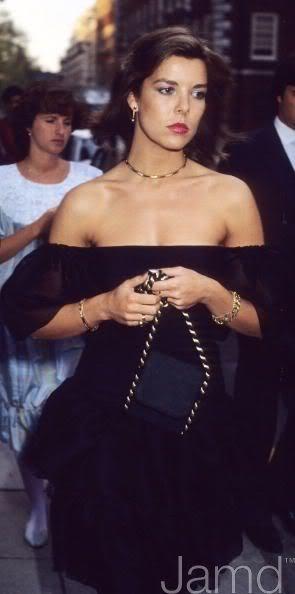 La princesa Carolina de Mónaco.