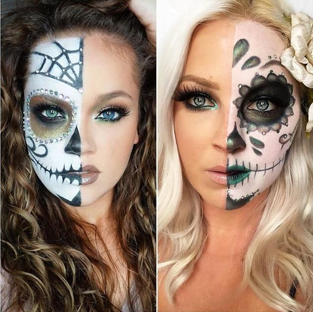 179 Best Images About Halloween Make-up On Pinterest