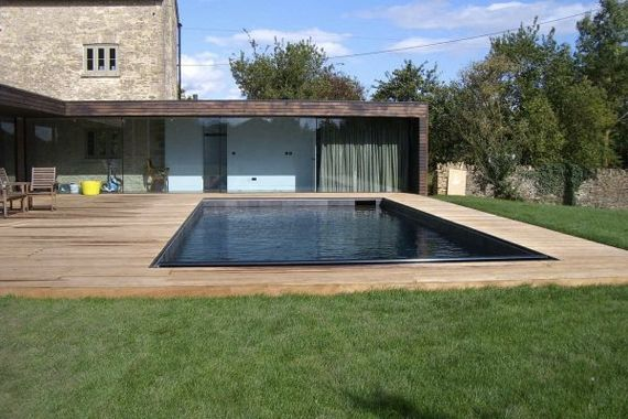16 best images about concrete pond on pinterest gardens brick garden and water features for Natural swimming pools los angeles