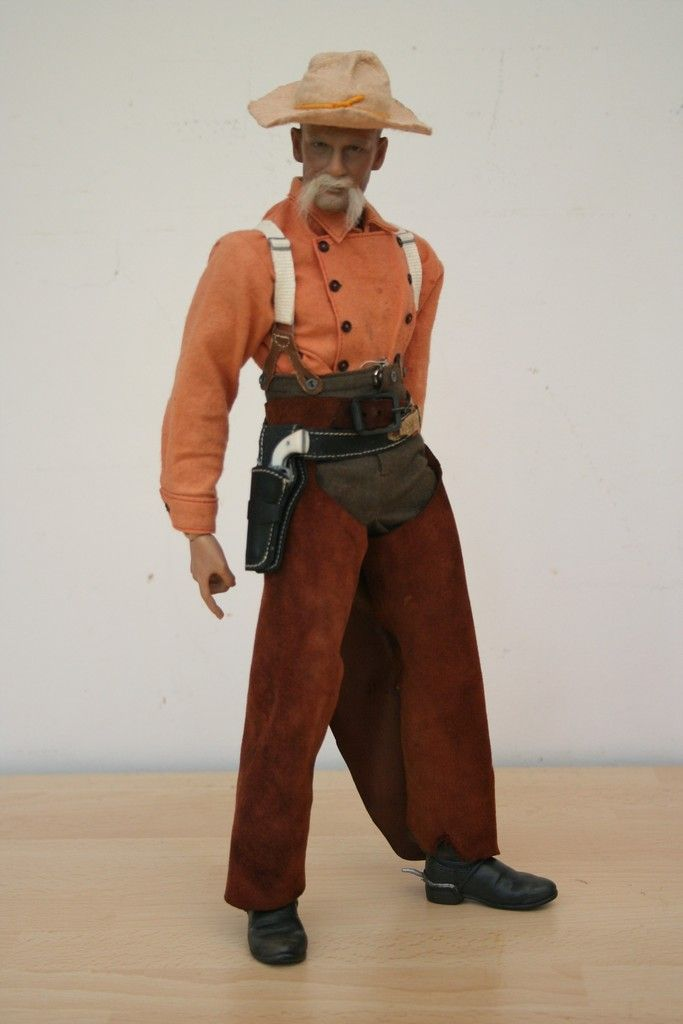 1/6 19th Cent. (Old West, ACW, Colonial Wars) Cowboy with ...