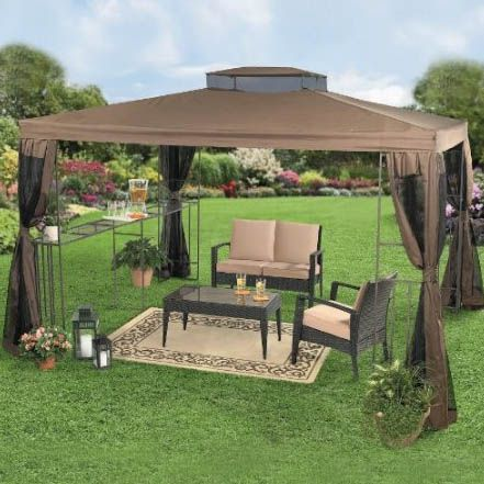 Gazebos and Canopies | Backyard Canopy Gazebo Ideas