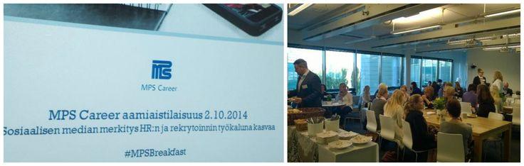 MPS Careerin toinen aamiaistilaisuus sosiaalisesta mediasta ja sen käytöstä rekrytoinnissa järjestettiin Helsingin toimistolla 2.10. Vieraspuhujana Richard von Kaufmann Zipipop Freudista.
