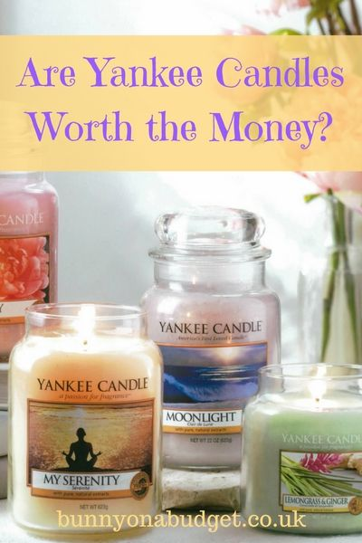 Are Yankee Candles worth the money? - One of the most well known candle brands that doesn't cost the same price as a designer handbag is Yankee Candles. While they may be cheaper than some of the most luxurious candles out there, they still can't be classed (in my eyes at least) as a budget candle. But are Yankee Candles worth the money or are budget candles just as good? If you've asked yourself this question then here's my brief Yankee Candle review to help you make up your mind.