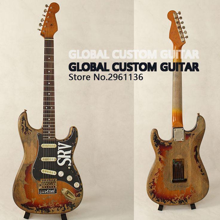 In Magazzino!! Di Alta Qualità nuovo handmade rimane ST SRV chitarra  elettrica, Fare