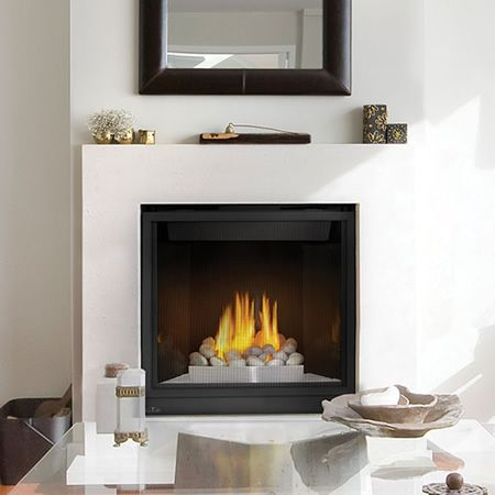 Napoleon HD35 High Definition 35 Direct Vent Gas Fireplace | WoodlandDirect.com: Indoor Fireplaces: Gas #LearnShopEnjoy