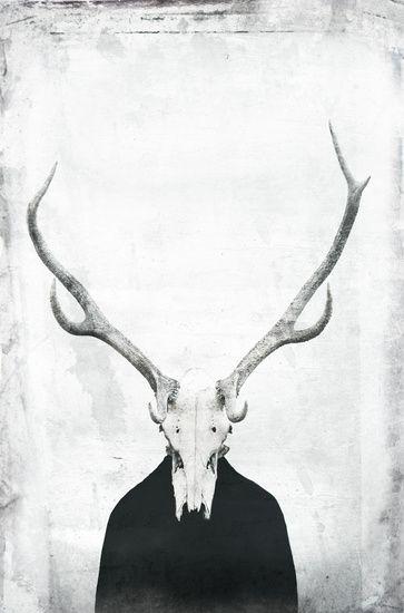 Absurd surrealistische Kunst , dunkle Kunst , konzeptionelle Darstellung der Emotion Scham