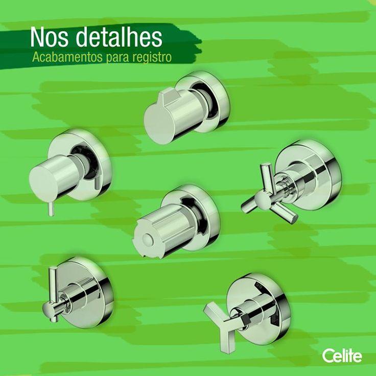 Na Celite você encontra tudo o que precisa para combinar com a decoração do seu banheiro. As linhas de metais trazem acabamentos de registro perfeitos para todos os estilos, do clássico ao moderno.#celite #banheiro #dicas #registro