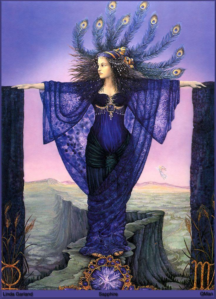 Linda Garland --Sapphire: