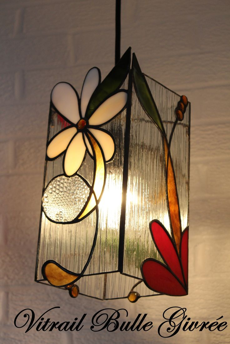 Lampe stained glass