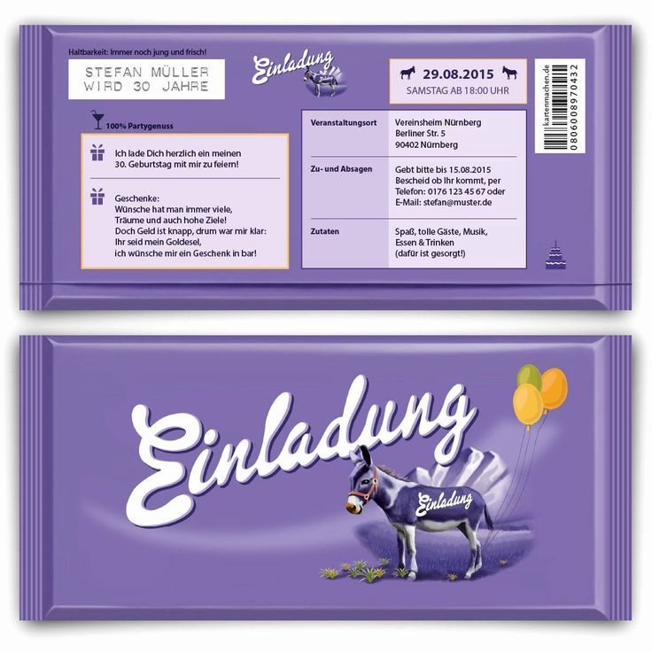 Einladungskarten Einladung Runder Geburtstag Einladung