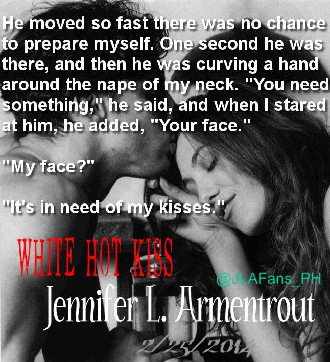White Hot Kiss by Jennifer L Armentrout