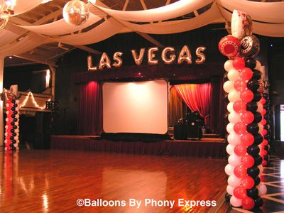 Phony Express Las Vegas Decorations
