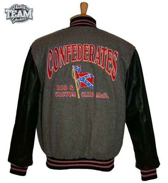 Confederates Club Varsity Jacket.