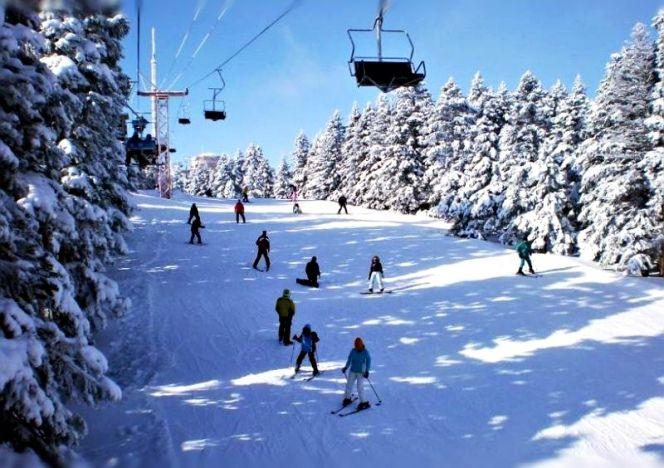 Türkiye'deki Kayak Merkezleri Uludağ – Bursa