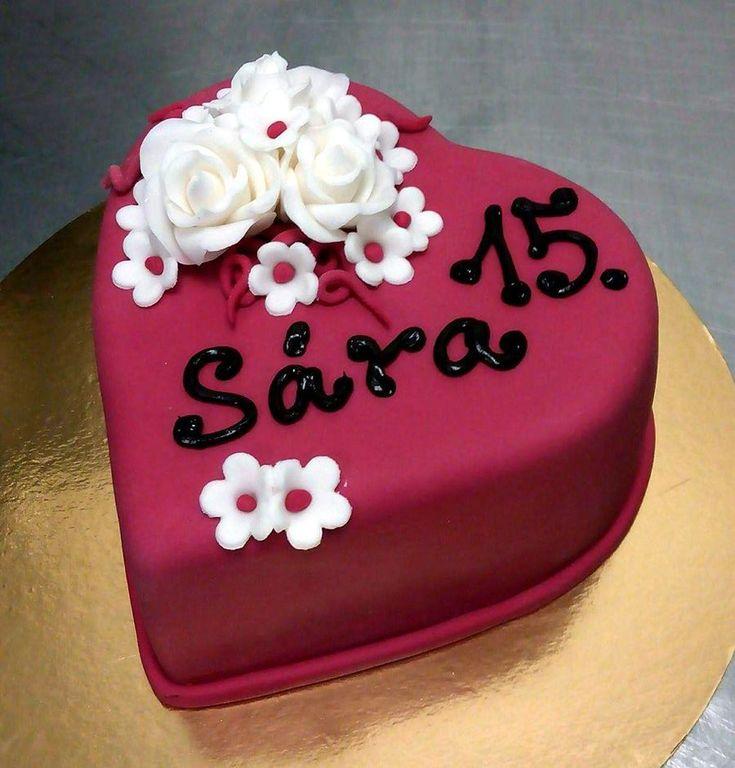 Narozeninový dort na zakázku z cukrárny Moje cukrářství