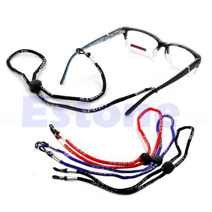 Glasses rope Reglable Titulaire Lunettes de soleil Collier Lunettes de Chaine Cordon