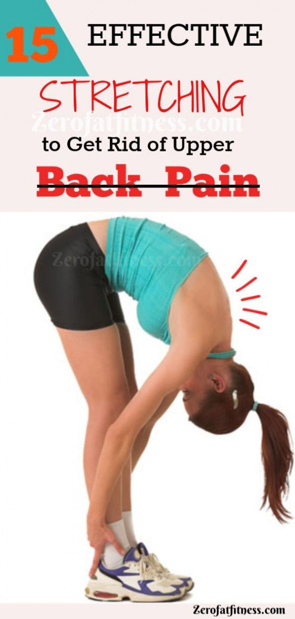 13++ Stretches to relieve upper back pain trends