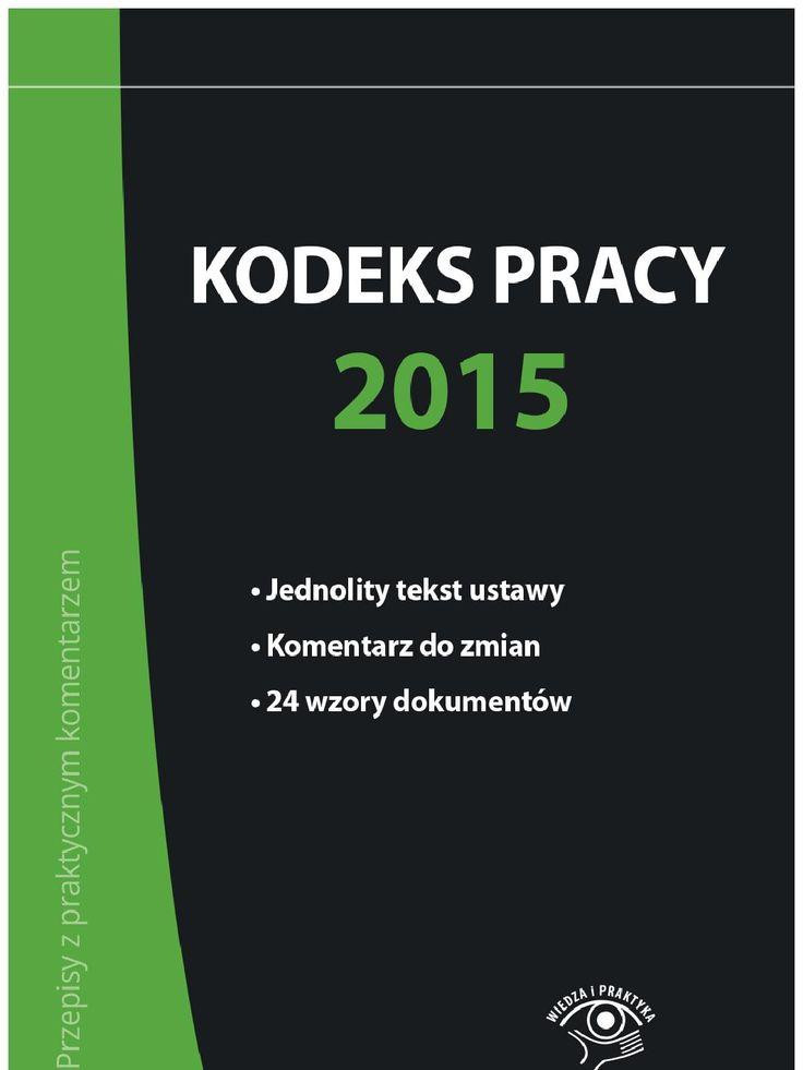 Kodeks pracy 2015 - ebook