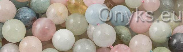 Kamienie szlachetne | Morganit | ONYKS - akcesoria jubilerskie | kamienie półszlachetne | koraliki | półfabrykaty srebrne | swarovski | kamienie naturalne | linki jubilerskie | sznurki | koraliki hurt | rzemienie