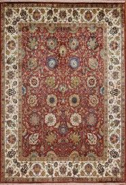 Kingdom Copper Cream Golden Age Rug Wool India