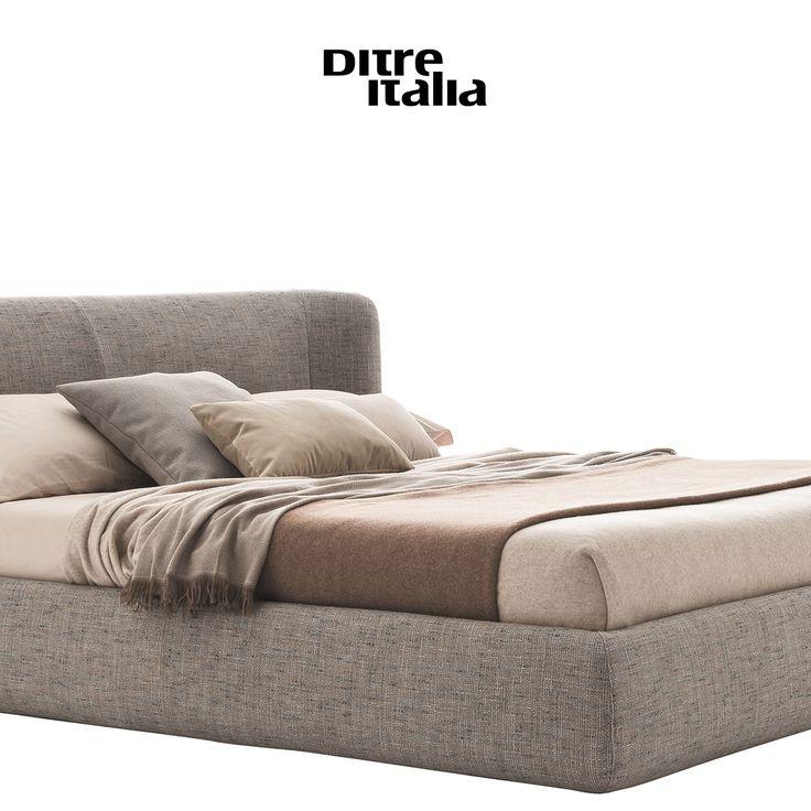 Inspired by the iconic armchair, Claire is an elegant bed designed to look beautiful in any type of bedroom. / Ispirato all'iconica poltroncina, Claire è un letto elegante concepito per adattarsi ad ogni tipo di camera.