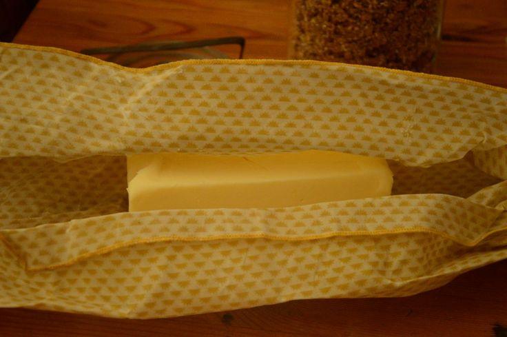DIY du Wrap: L'emballage réutilisable à la cire d'abeille, pour réduire ses déchets dans la cuisine.