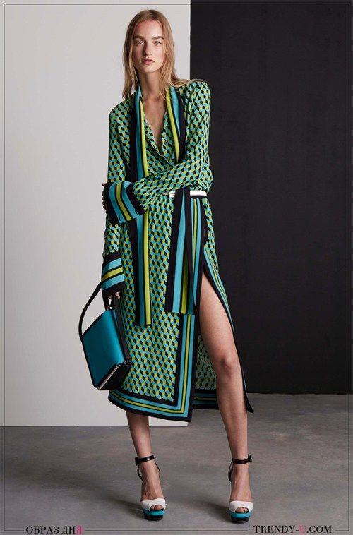 Модные образы: платье Майкл Корс