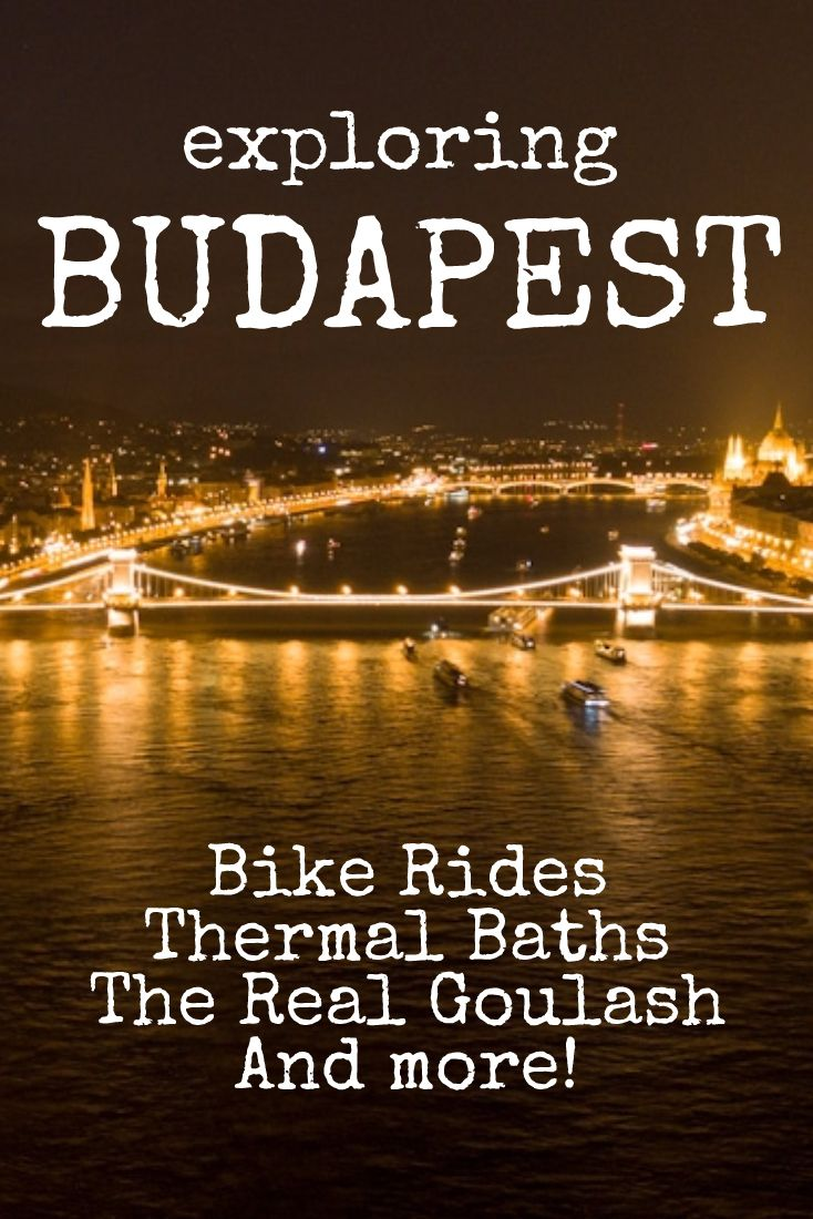 Exploring Budapest by bike!