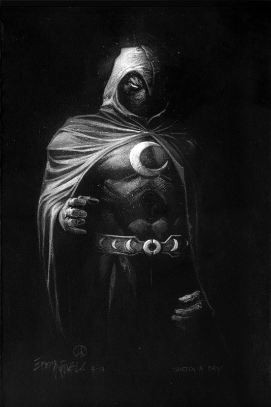 Moon Knight by Eddy Newell