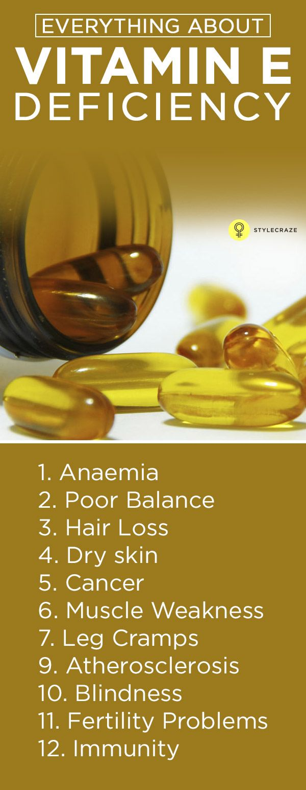 Vitamin E is a micro-nutrient that the body needs for proper functioning. In this article, we give you all the details on vitamin e deficiency ...