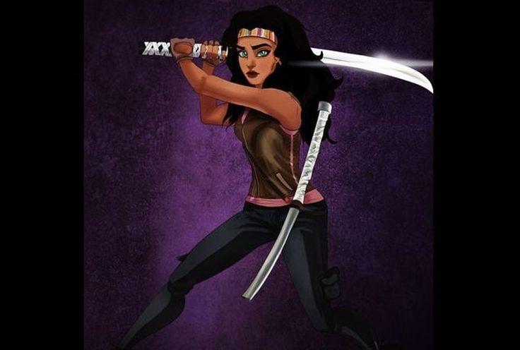 Esmeralda revivió a Michonne, de The Walking Dead. (Isaiah Stephens.).  #Comics  ========================   Rolando De La Garza Kohrs  http://About.Me/Rogako  ========================
