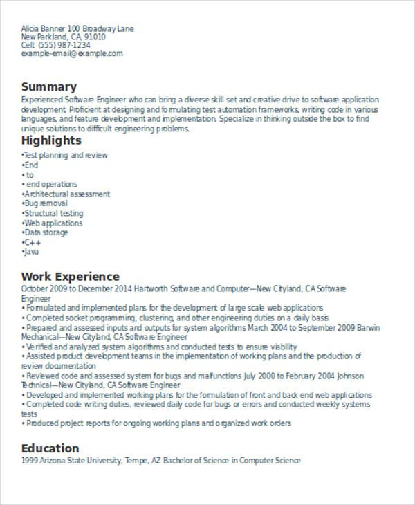 Android Developer Resume Check More At Https Nationalgriefawarenessday Com 16377 Android Developer Resume