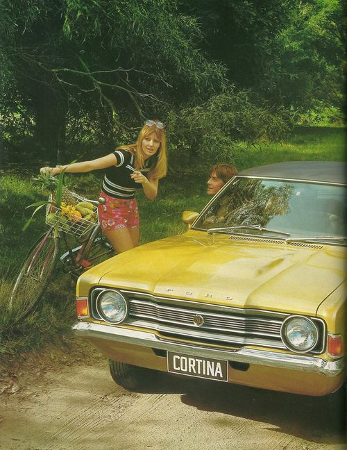"Ford Cortina ""Why yes, the seventies are that way"""