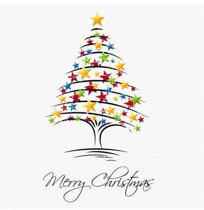 Weihnachtsbaum-Vektor-illustration