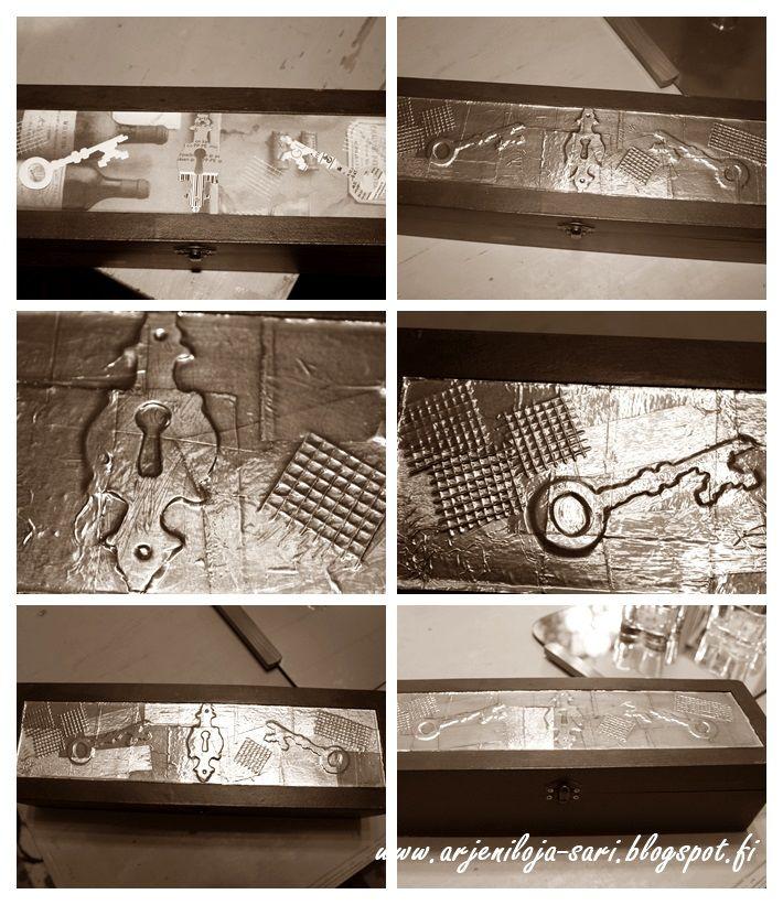Alumiini- ja lasikuituteipillä tuunailua