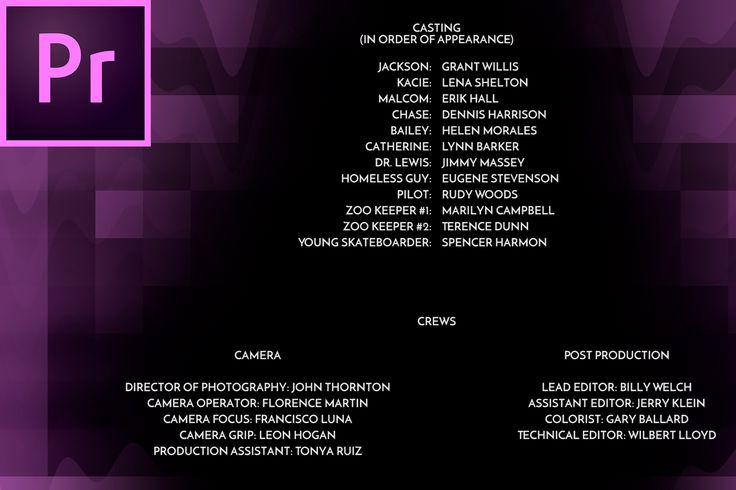 Looking to create those professional looking credits that you see roll at the end of every single movie you've ever watched? This tutorial will...