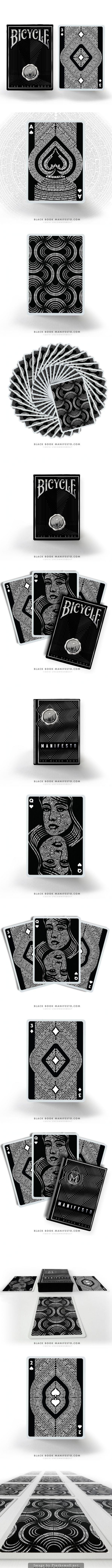 The Black Book Manifesto : A Typographic Deck
